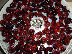 dehydrated cherries